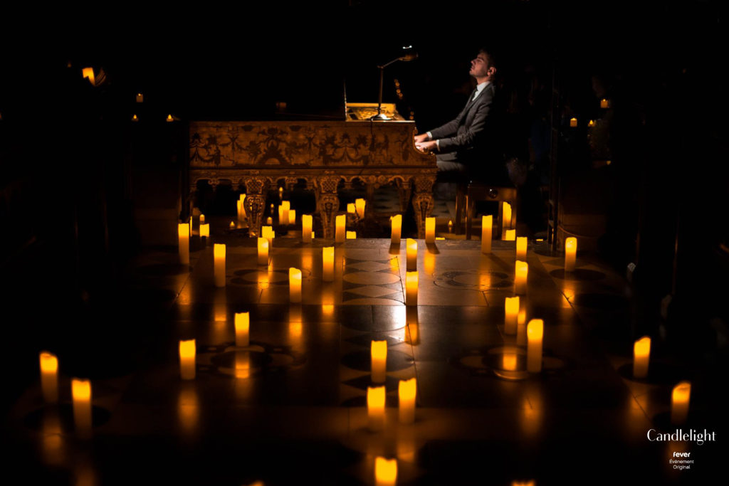 Concert de piano à la bougie Candlelight Fever Up Lyon