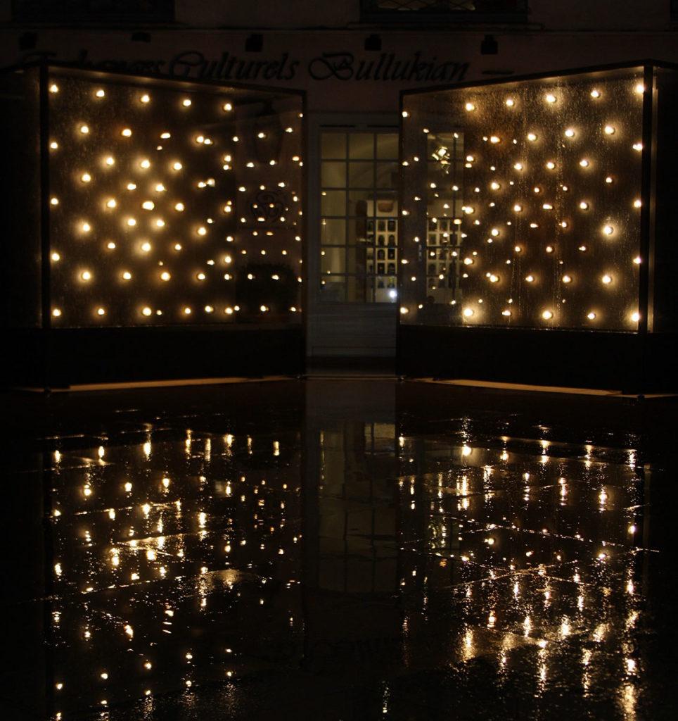 Vue de l'exposition Filaments, 2012 © Compagnie IKB