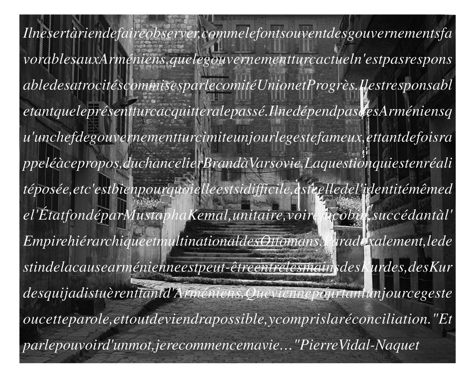 Alep 1915... Témoignages, 2015 ©Rajak Ohanian