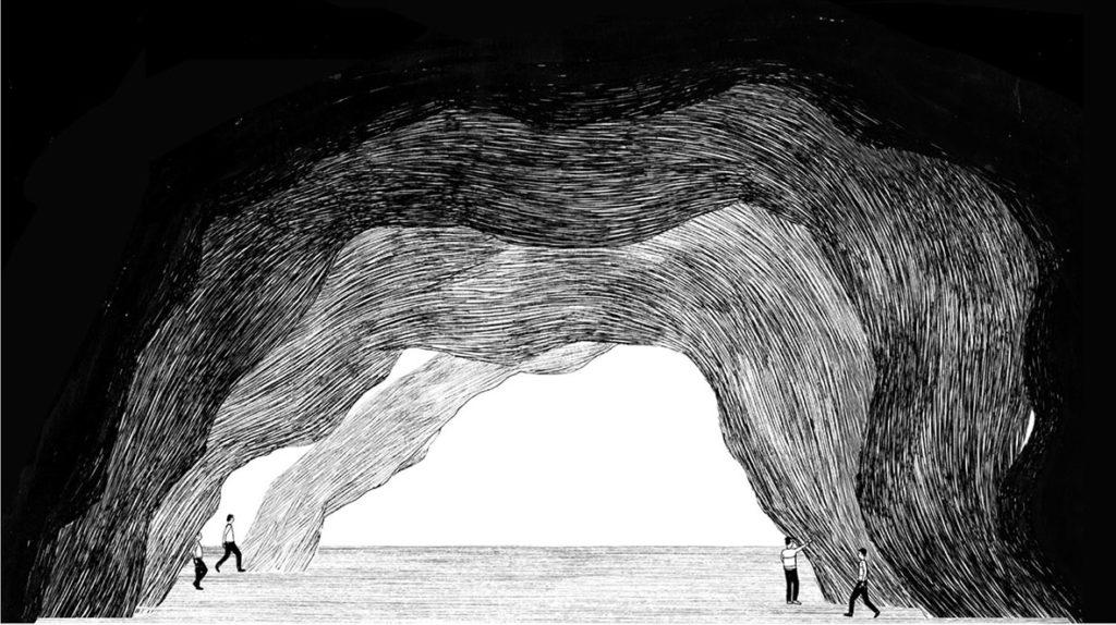 Vincent_Broquaire, Cave studies, 2016 © Jules Roeser