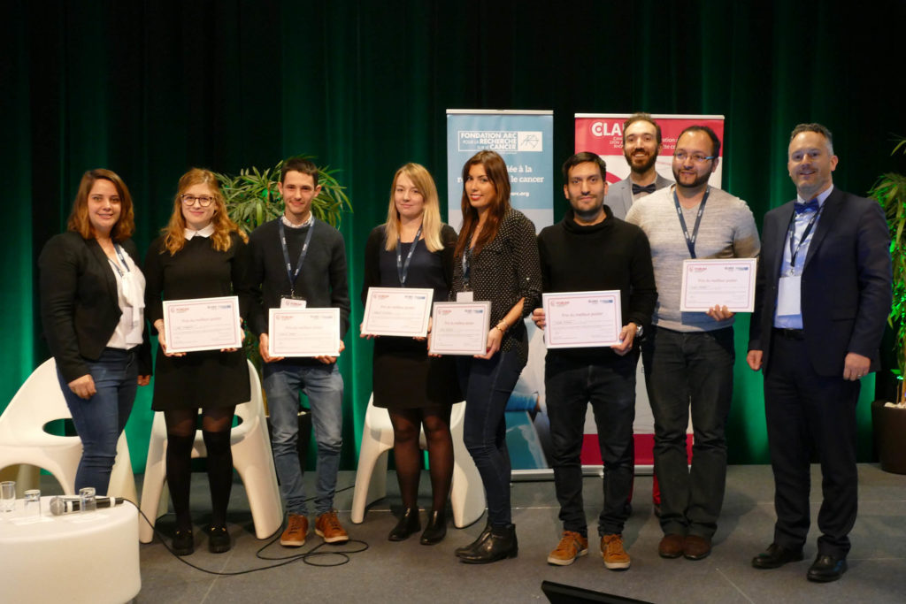 7 jeunes chercheurs récompensés pour leurs travaux © Cancéropôle CLARA Lyon