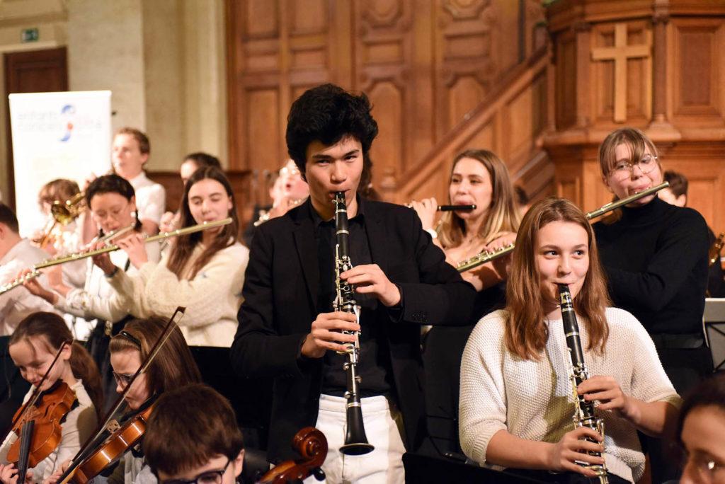 Concert de clôture à Paris avec l'Orchestre des Petites Mains Symphoniques 2020 © Une nuit pour 2500 voix