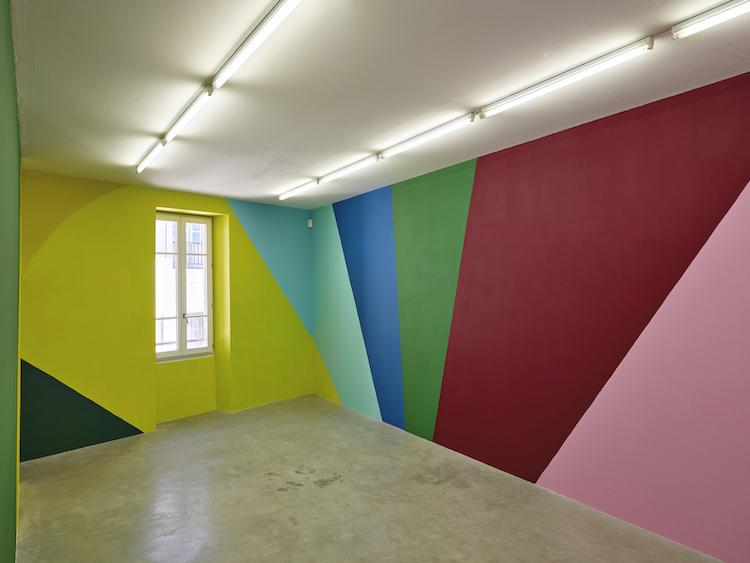 Vue de l'exposition de Valérie du Chéné à Angle Art Contemporain, 2020 © François Deladerrière