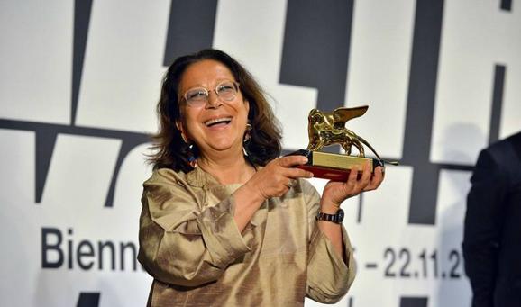 Adelina Cuberyan von Furstenberg, curateur d'Armenity récompensée par le Lion d'Or du meilleur pavillon de la Biennale de Venise 2015