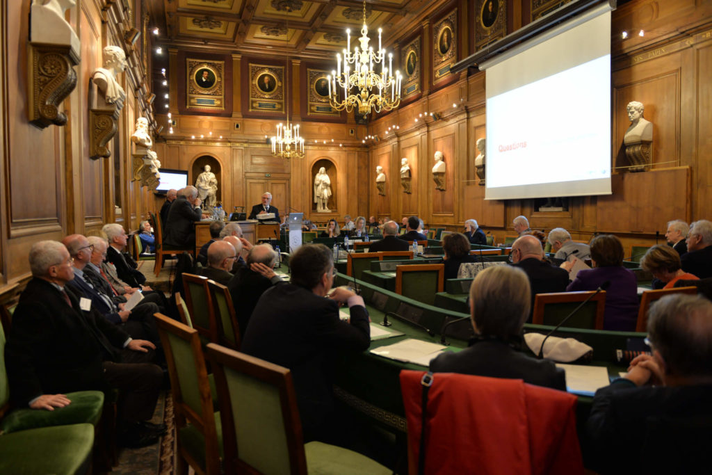 Colloque Imagerie médicale : le corps en transparence à l'Institut de France, 2020