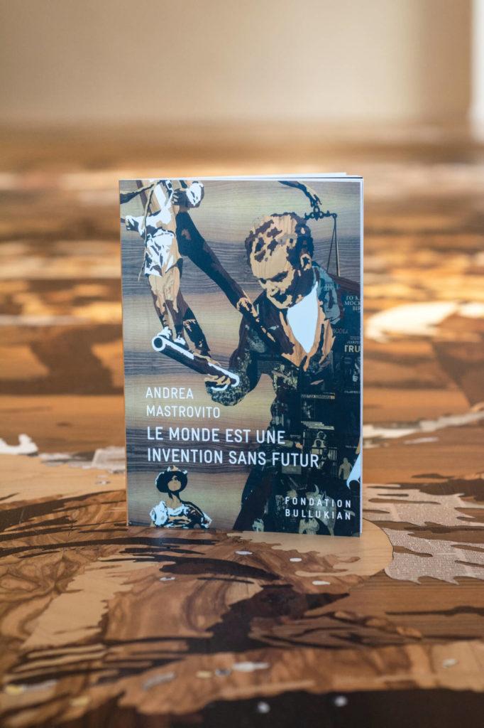 Edition de l'artiste Andrea Mastrovito pour l'exposition Le monde est une invention sans futur janvier 2020