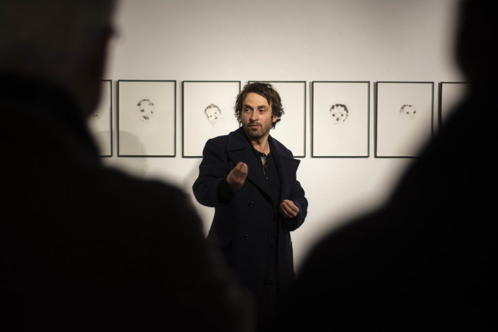 Rencontre avec l'artiste Lionel Sabatté © Fondation Bullukian