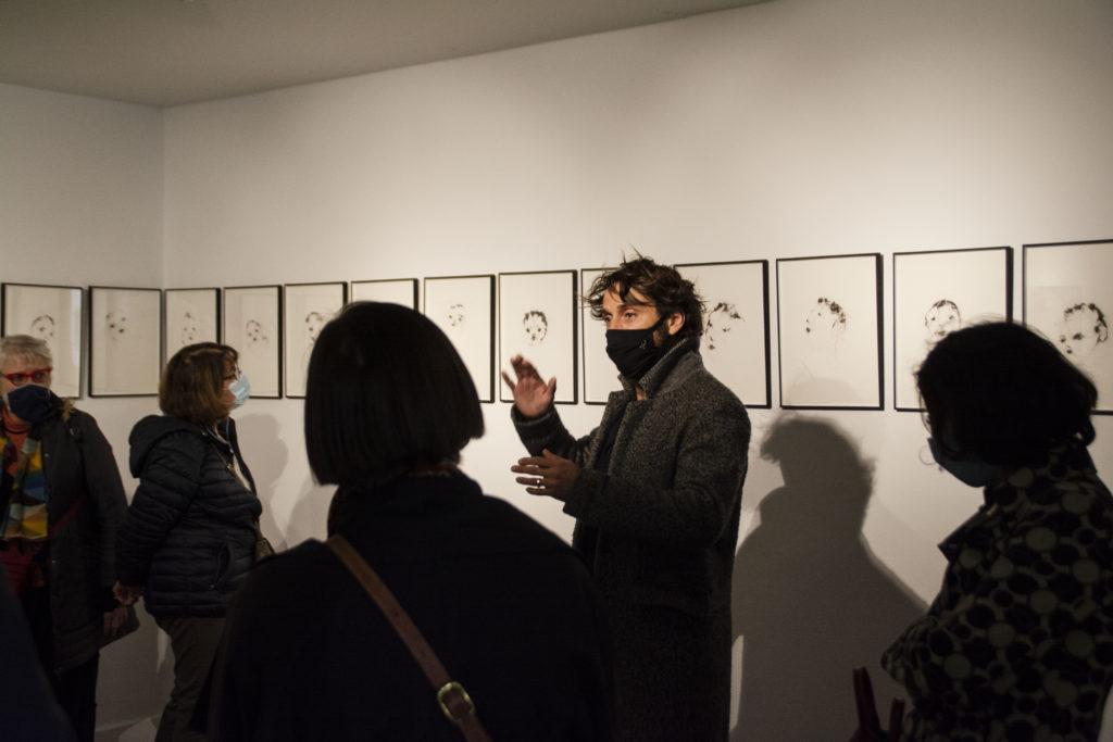 Rencontre avec l'artiste Lionel Sabatté, 2020 © Fondation Bullukian