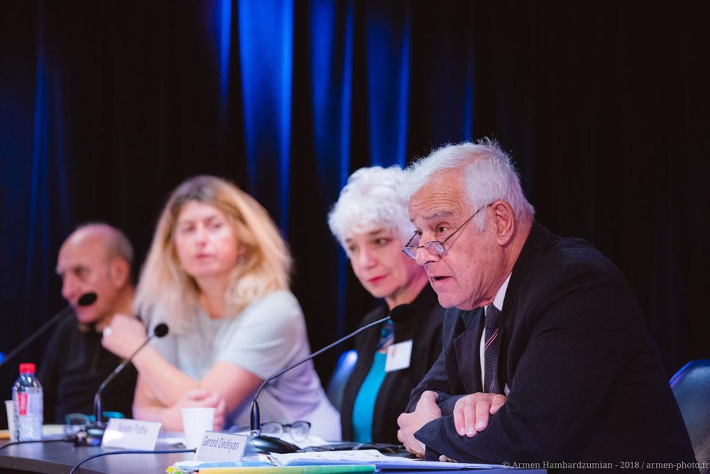 colloque international : « Cent ans après le front de l'est, l'Arménie et le Levant entre guerres et paix » organisé par l'association ADCARLY à Lyon avec le soutien de la Fondation Bullukian