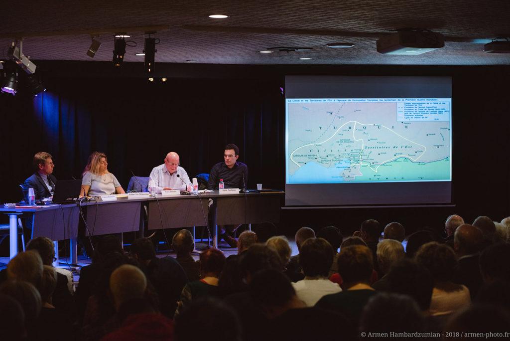 Présentation lors du colloque international : « Cent ans après le front de l'est, l'Arménie et le Levant entre guerres et paix » organisé par l'association ADCARLY à Lyon avec le soutien de la Fondation Bullukian
