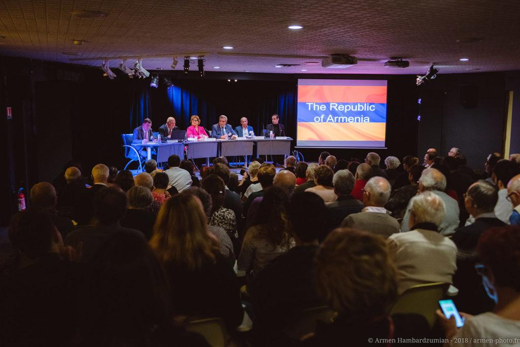 Colloque international : « Cent ans après le front de l'est, l'Arménie et le Levant entre guerres et paix »