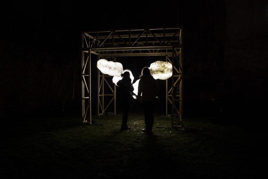 Les rêveries lumineuses de Léonard, Fête des Lumières 2019 © Fondation Bullukian