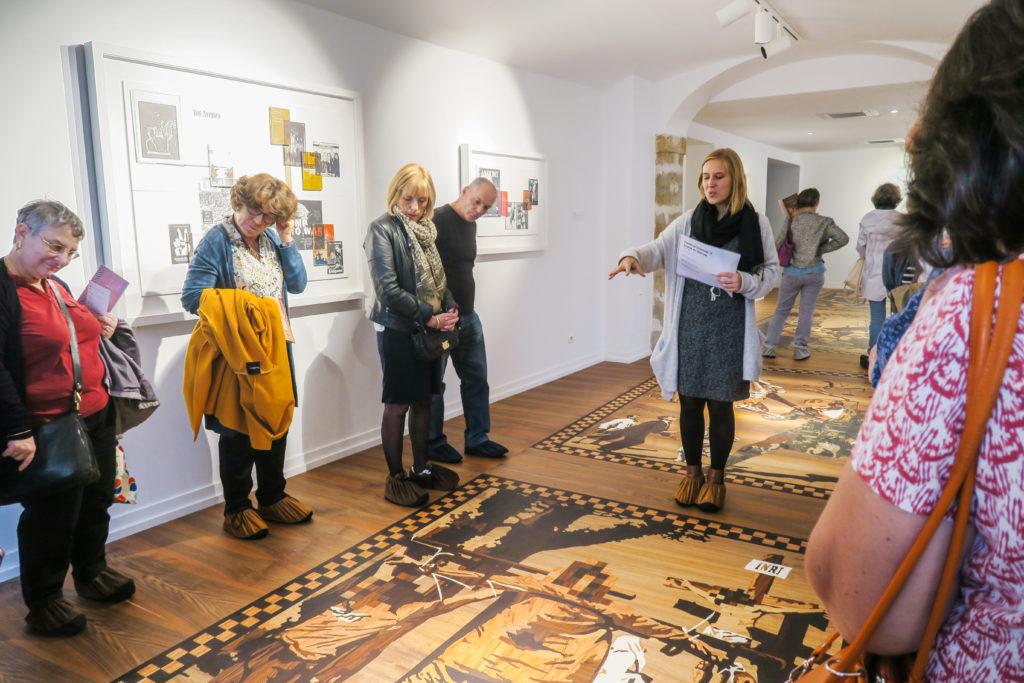 Visite commentée de l'exposition Le monde est une invention sans futur d'Andrea Mastrovito, 2019