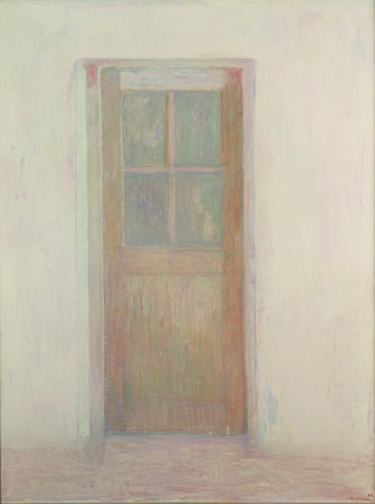 Jacques Truphémus, La porte de l'atelier, 1992