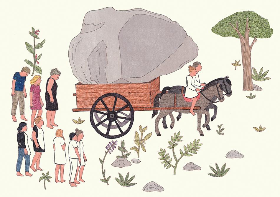 Marion Fayolle, La Tendresse des pierres (extrait) © Editions Magnani