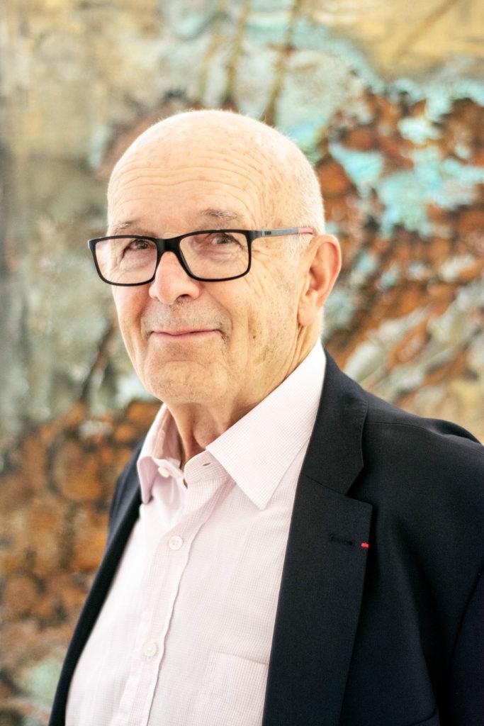 Portrait de Jean-Pierre Claveranne, Président de la Fondation Bullukian