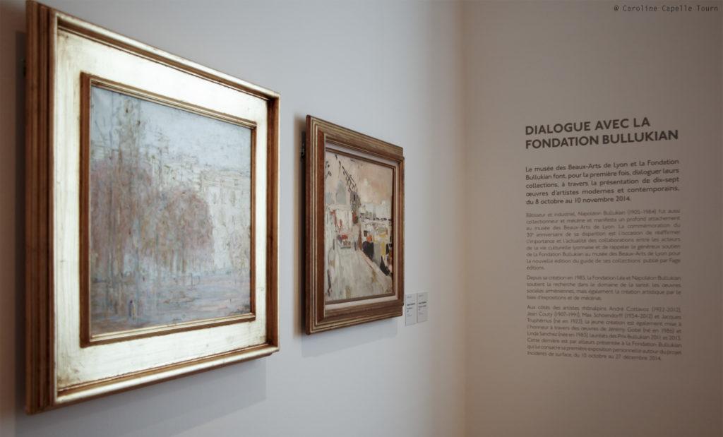 Vue de l'exposition Dialogue avec la Fondation Bullukian ©C.Capelle Tourn