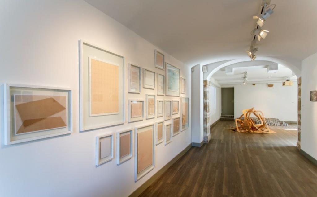 Vue de l'exposition Les formes de la sculpture, 2015 ©C.Capelle-Tourn