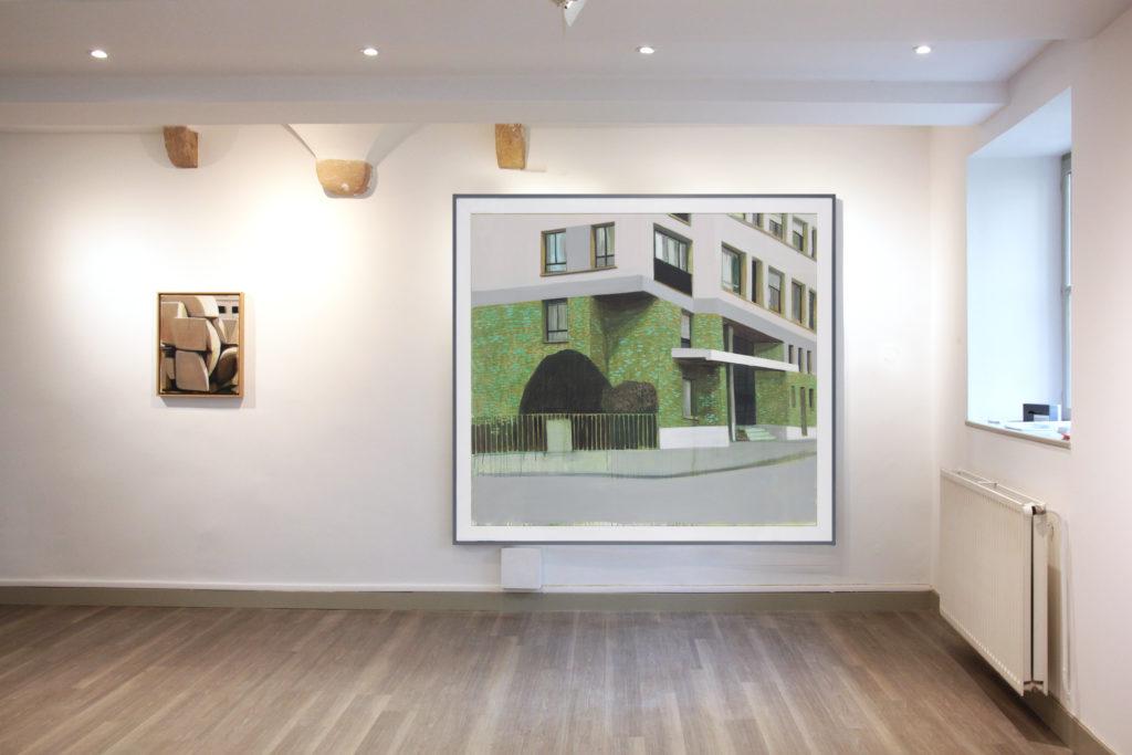 Vue de l'exposition L'infinie distance des choses dans leurs temps, 2016 © C.Capelle-Tourn