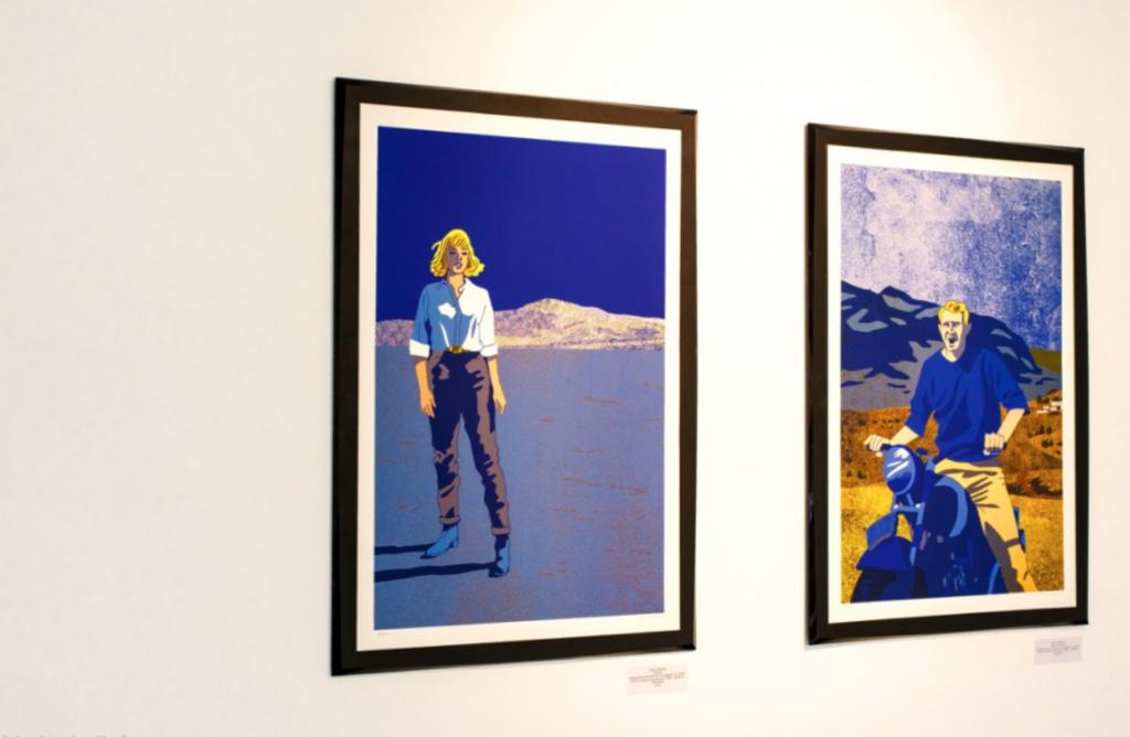 Vue de l'exposition Nyctalope, 2015 ©C.Capelle Tourn