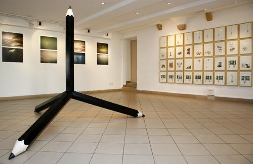 Vue de l'exposition Quadruples, 2012 ©DR