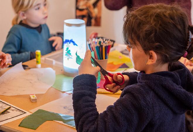 Bullukids visite et atelier en famille à la Fondation Bullukian Lyon