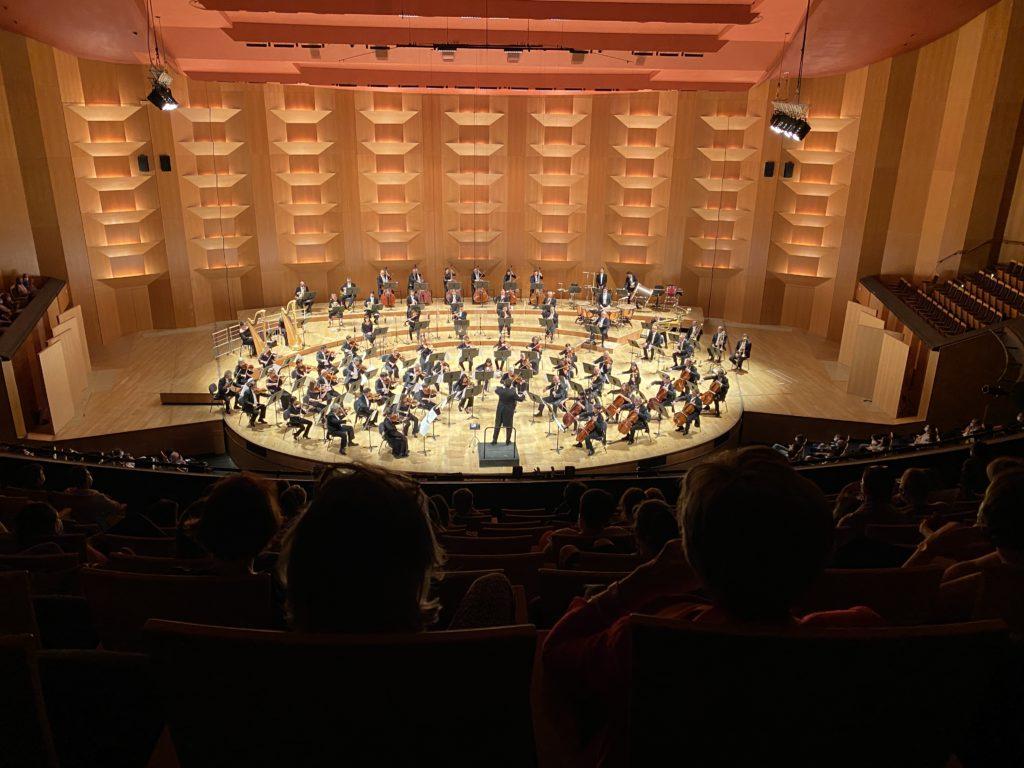 Concert de l'Auditorium Orchestre national de Lyon en remerciement aux soignants des Hospices civiles de Lyon, juillet 2020