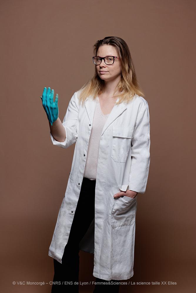 Marie-Laure Michon, Ingénieure chimiste en matériaux polymères